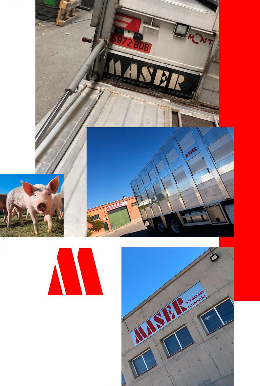 Empresa Carrocerias Maser remolques